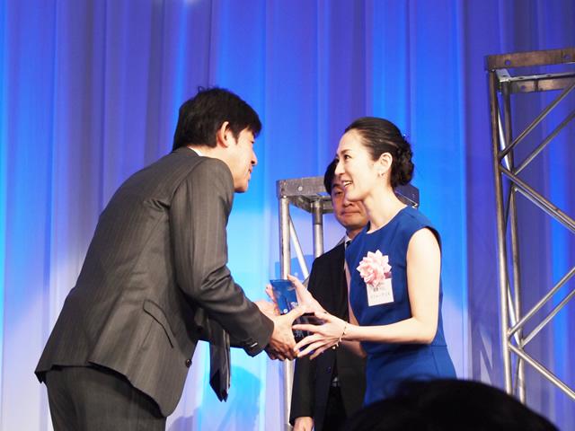 ネットショップ大賞授賞式